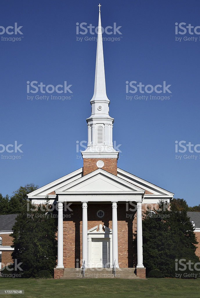 Church Building royalty-free stock photo