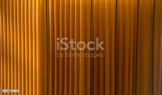 istock Church candles production pattern. 695110854