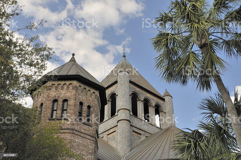Church, Charleston, South Carolina royalty-free stock photo