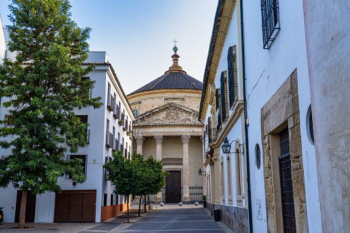 Church Church of the College of Santa Victoria in Cordoba, Andalusia, Spain.
