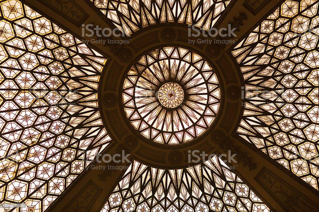church cupola stock photo
