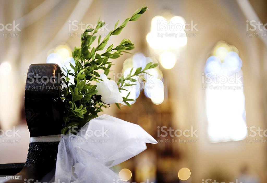 Church decoration royalty-free stock photo