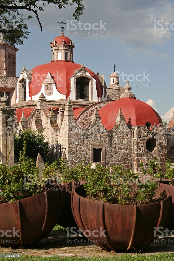 Church del Carmen stock photo