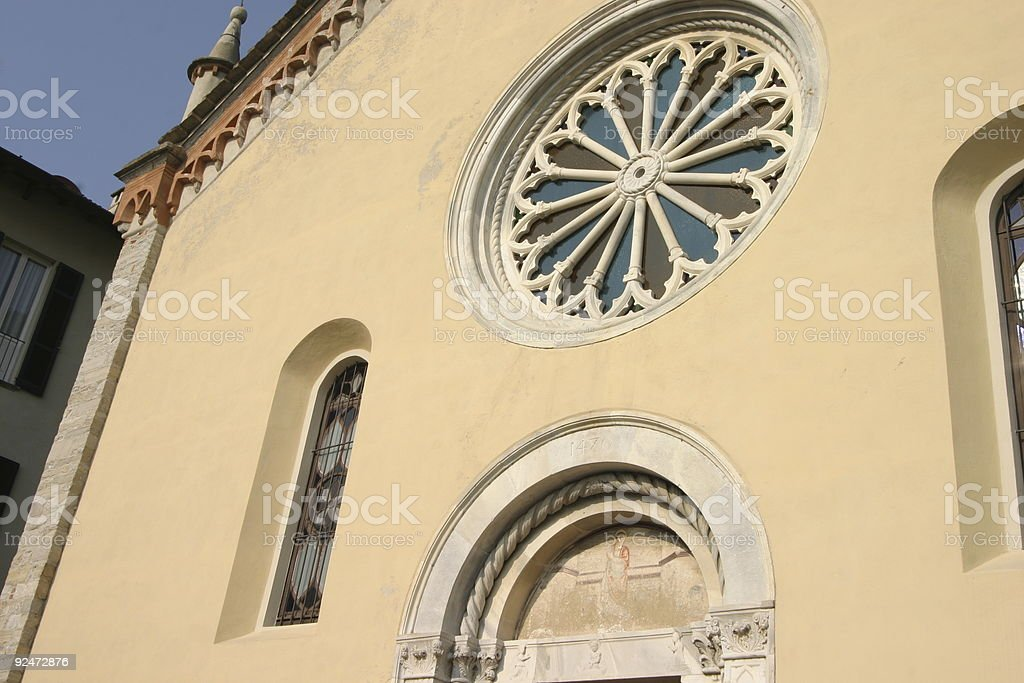 church details royalty-free stock photo