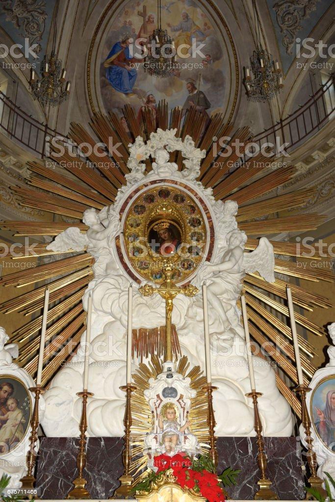 Church di San Rocco close to Camogli 免版稅 stock photo