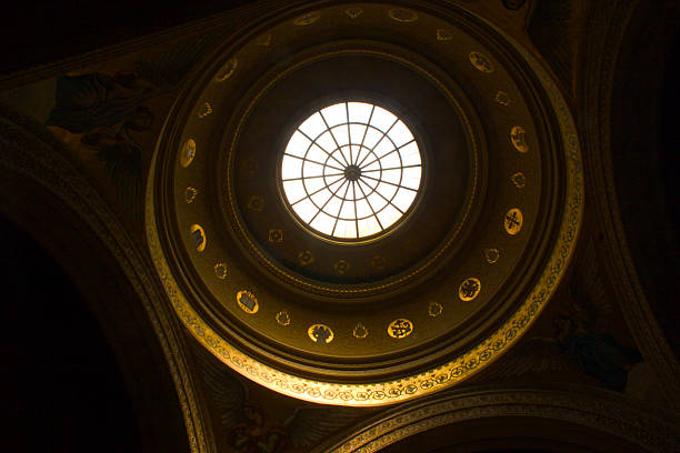 Church dome stock photo