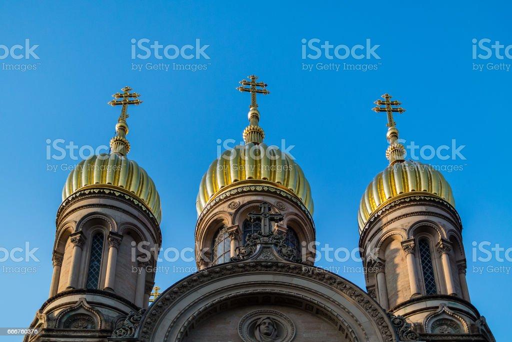 Church Domes foto stock royalty-free