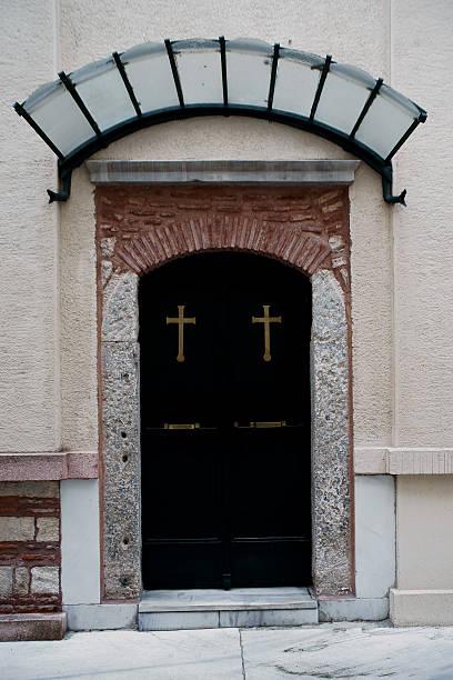 church door - adomer stok fotoğraflar ve resimler