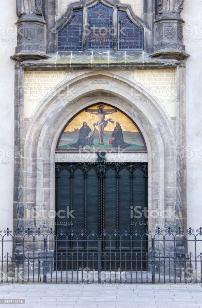 Kirche Tür – Foto