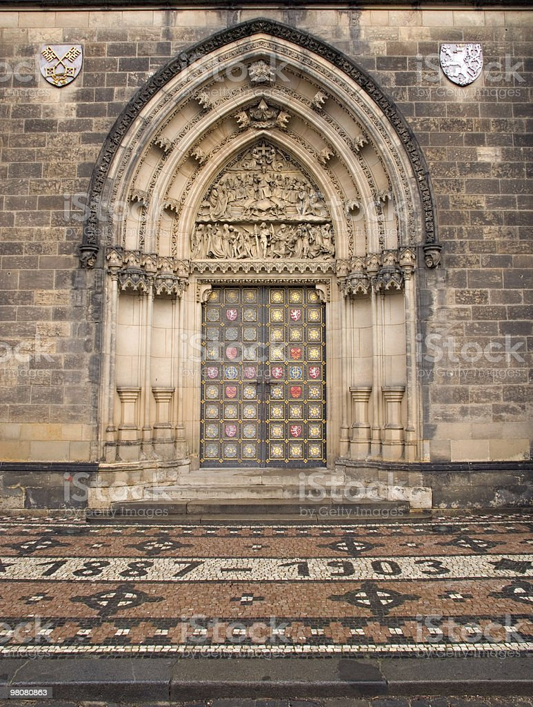 Church Door royalty-free stock photo
