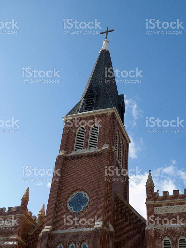 Church Downtown royalty-free stock photo
