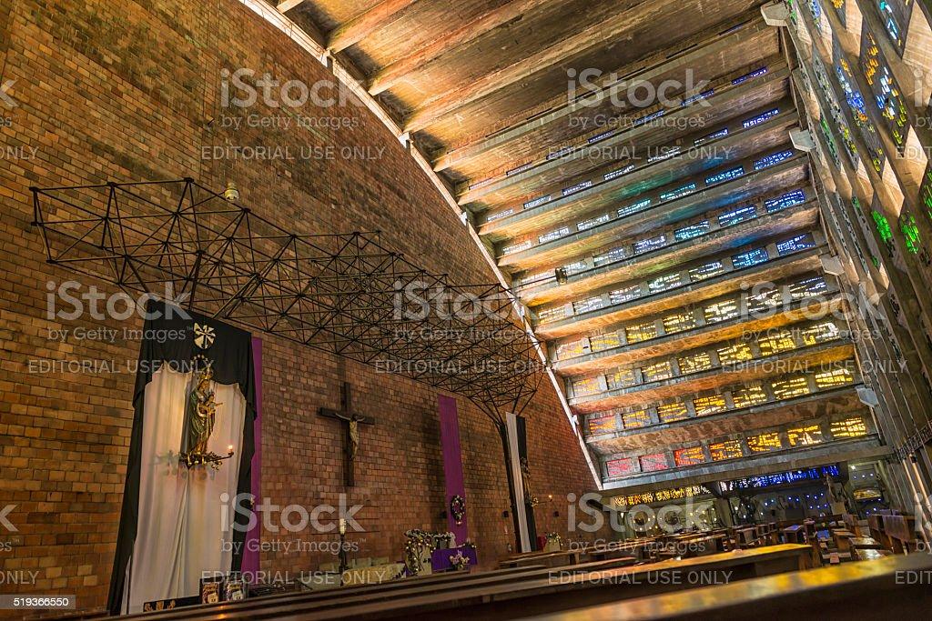 Church El Rosario stock photo