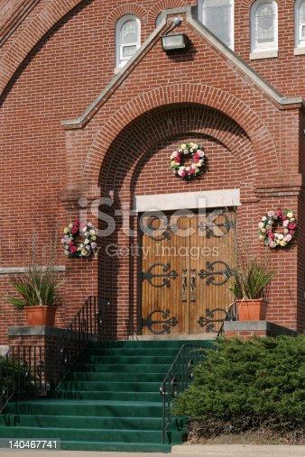 istock Church Entrance 140467741