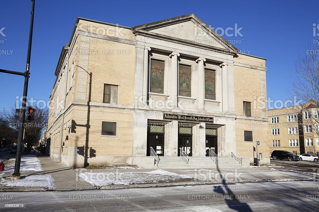 Church Facade In West Garfield Park Chicago Stock Photo Download Image Now Istock