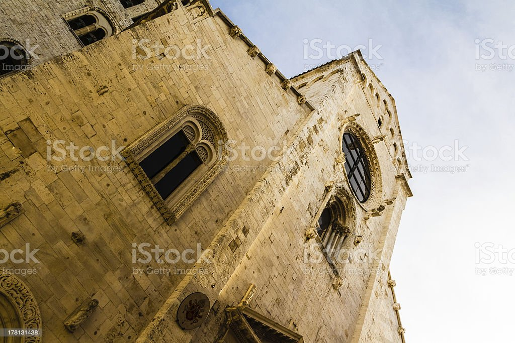 Church from below royalty-free stock photo