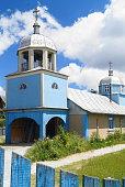 istock Church from the Mila 23, Danube Delta, Tulcea, Romania (Delta Dunarii) 695215782