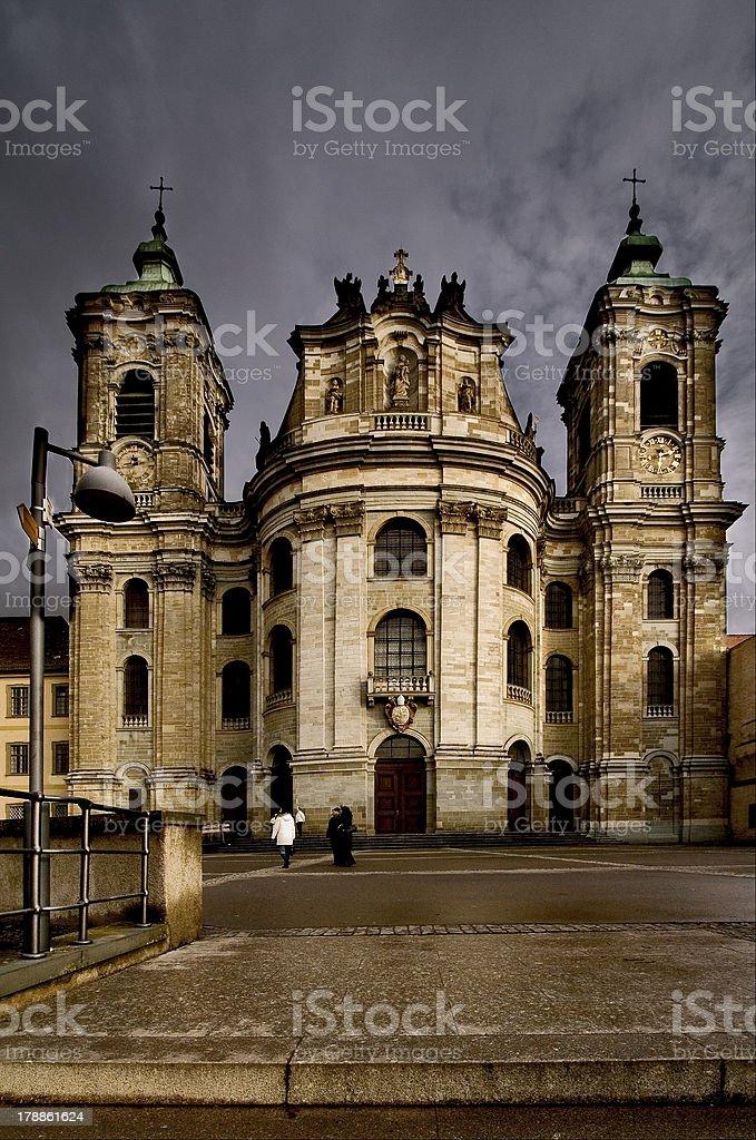 church germany weingarten royalty-free stock photo