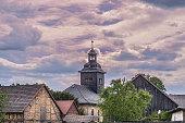 Church in a small village