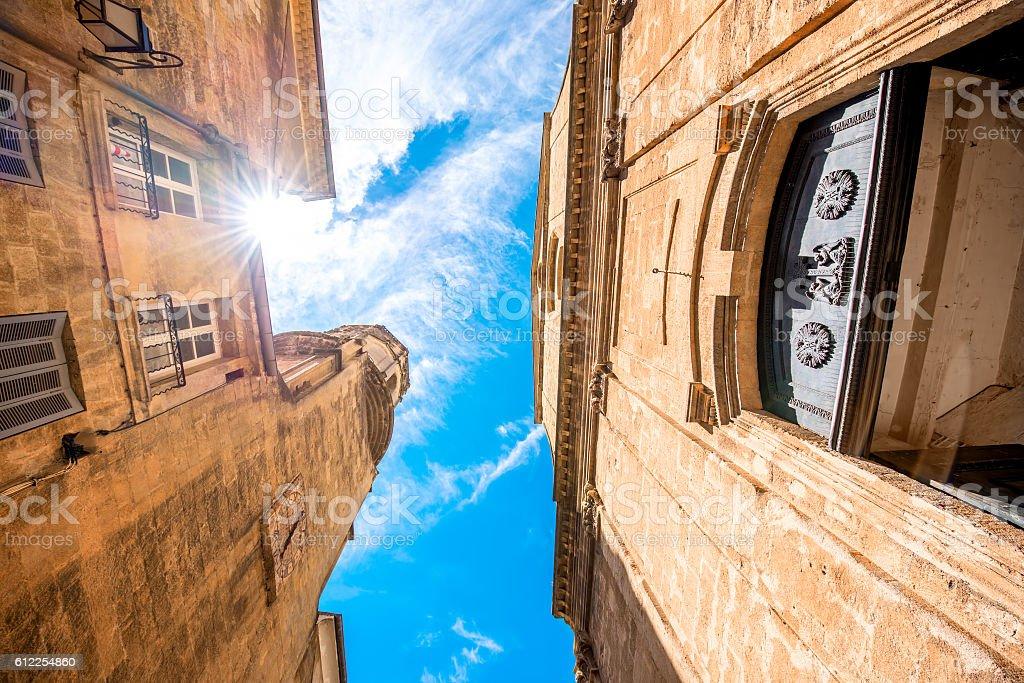 Church in Aix-en-Provence stock photo