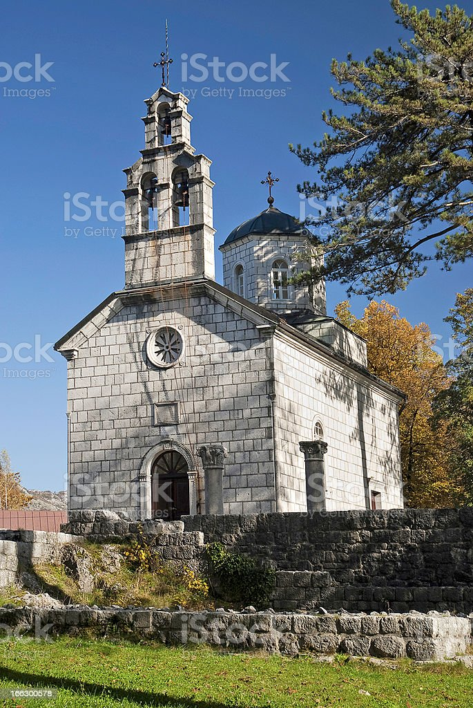 cetinje モンテネグロの教会 ロイヤリティフリーストックフォト