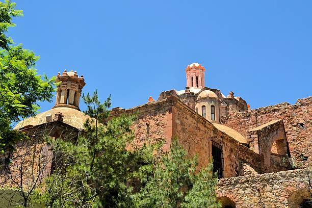 Church in colonial Zacatecas, Mexico stock photo