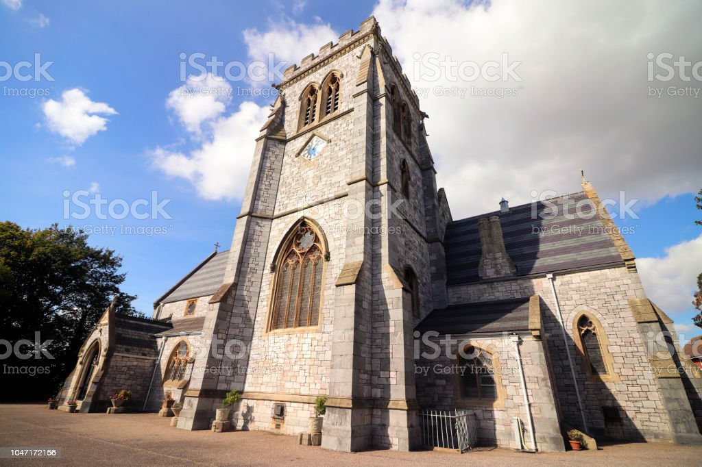 Church in England stock photo