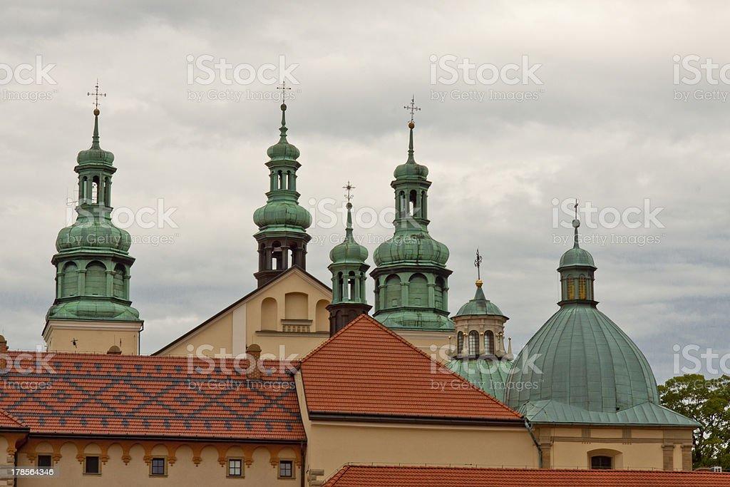 Church in Kalwaria Zebrzydowska - Poland UNESCO place. stock photo
