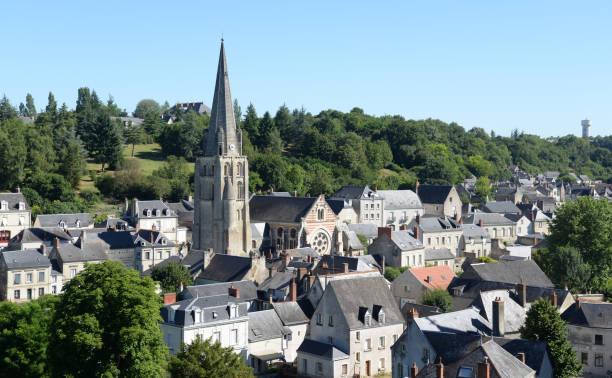 Kirche in Langeais, Frankreich – Foto