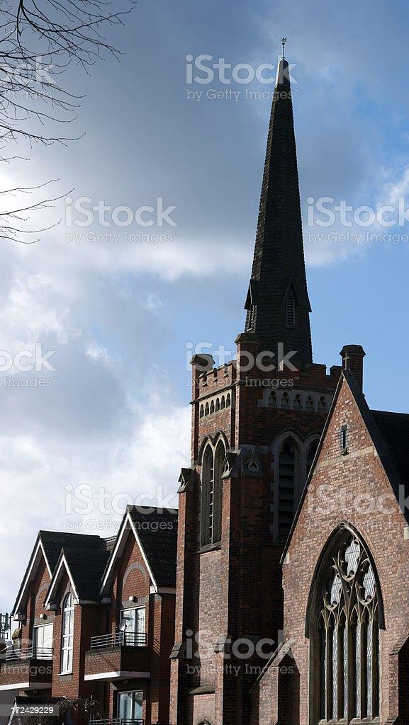 Church in London, England royalty-free stock photo