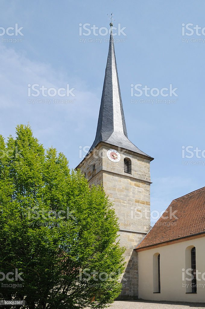 Church in Mistelbach royalty-free stock photo