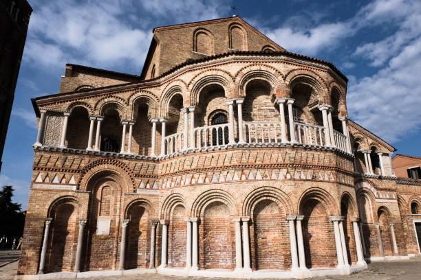 Church in Murano, Venice stock photo