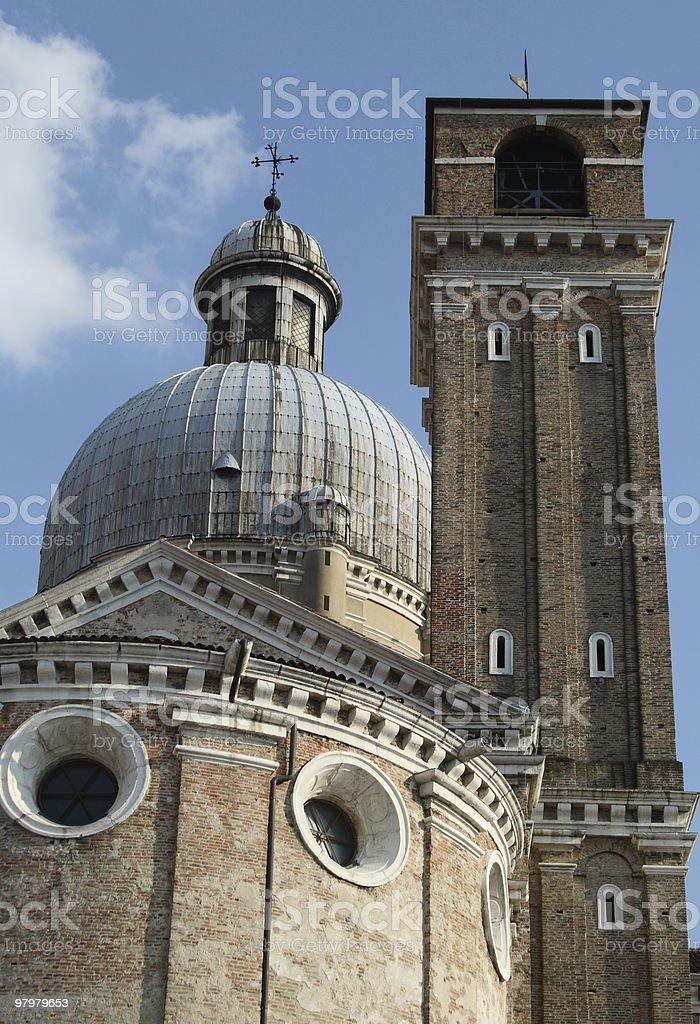 Church in Padua, Italy royalty-free stock photo