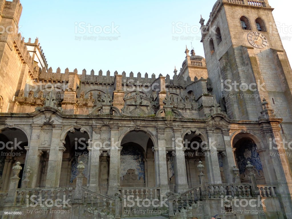Church in Porto Portugal - Royalty-free Angle Stock Photo