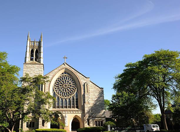 Church in Princeton stock photo