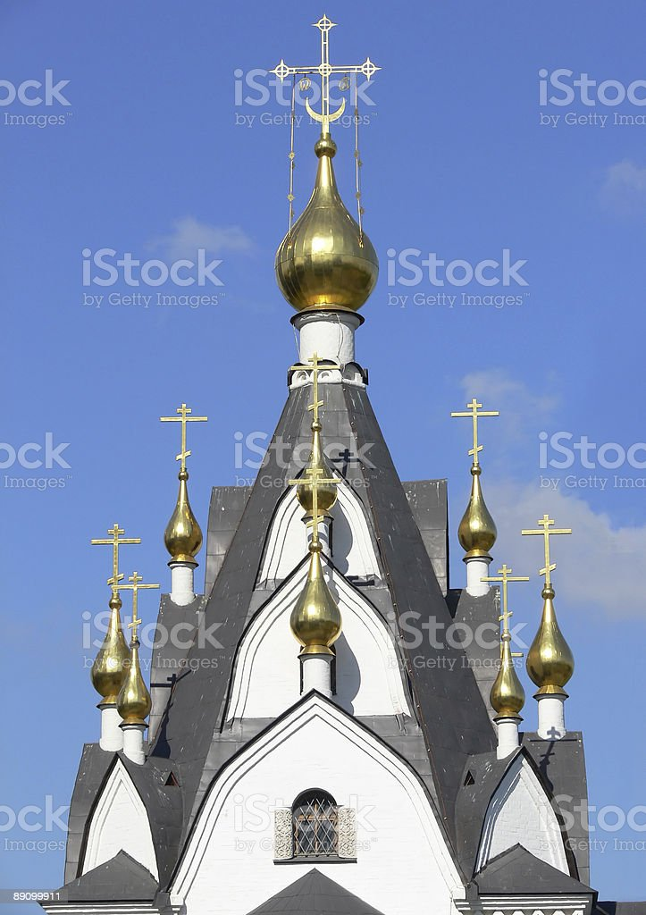 Church in Russia royalty-free stock photo