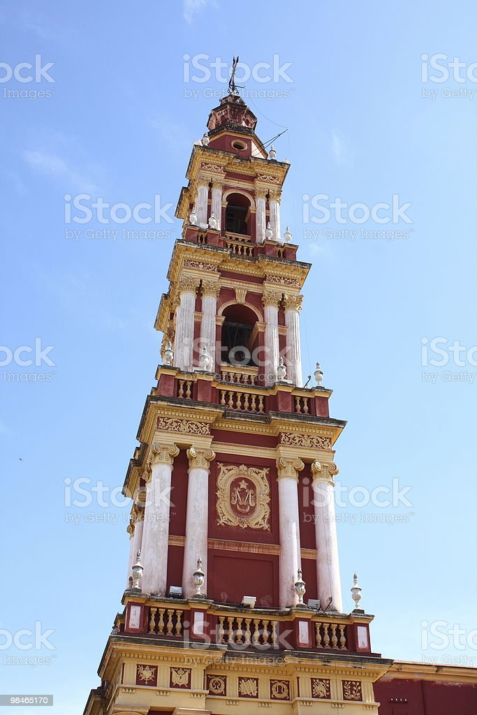 Church in Salta, Argentina royalty-free stock photo