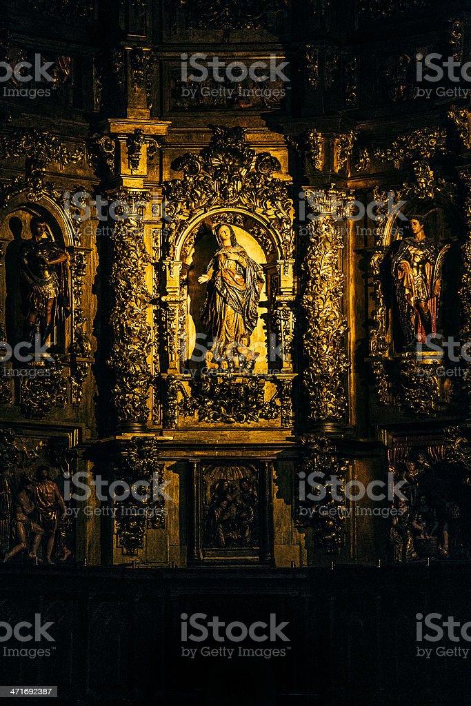 church in santander royalty-free stock photo