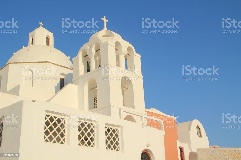 church in santorin,greek islands foto de stock royalty-free