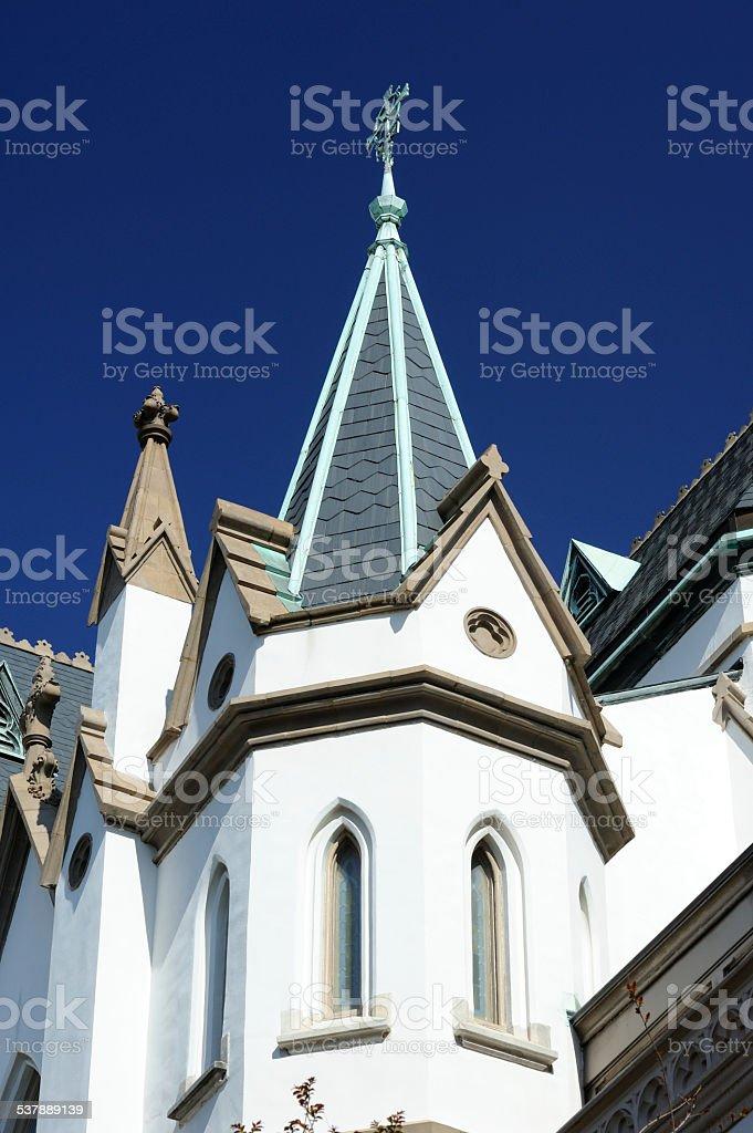 Church in Savannah stock photo