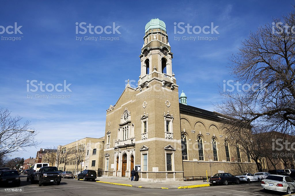 Church in South Lawndale royalty-free stock photo