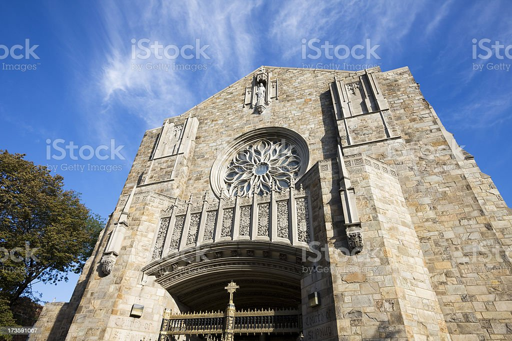 Church in South Shore Chicago royalty-free stock photo