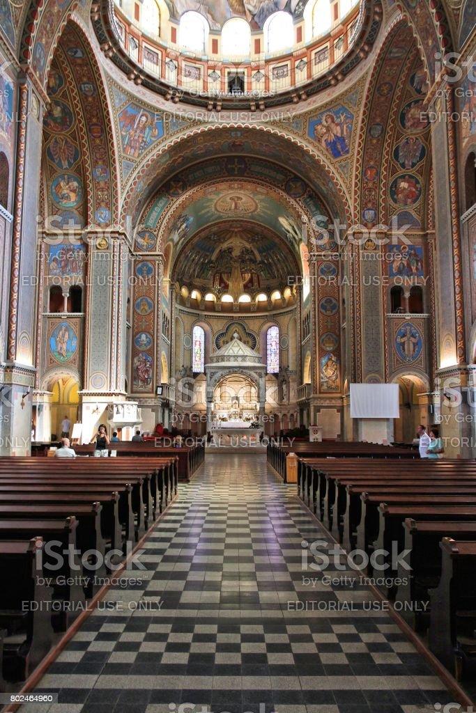 Church in Szeged stock photo