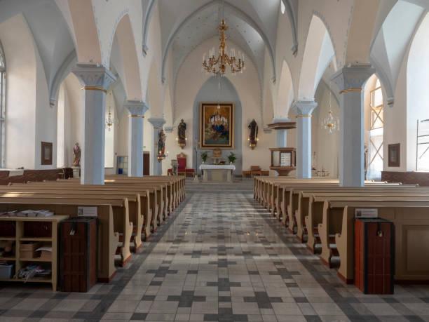 Church in Tallinn, Estonia stock photo