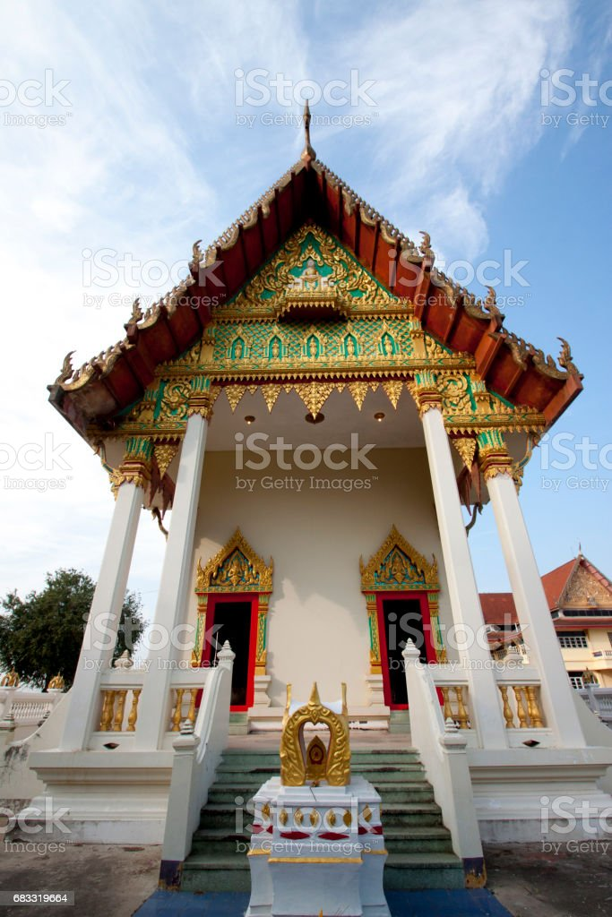 Church in Thailand royalty-free stock photo