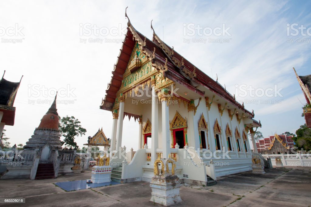 Church in Thailand foto stock royalty-free