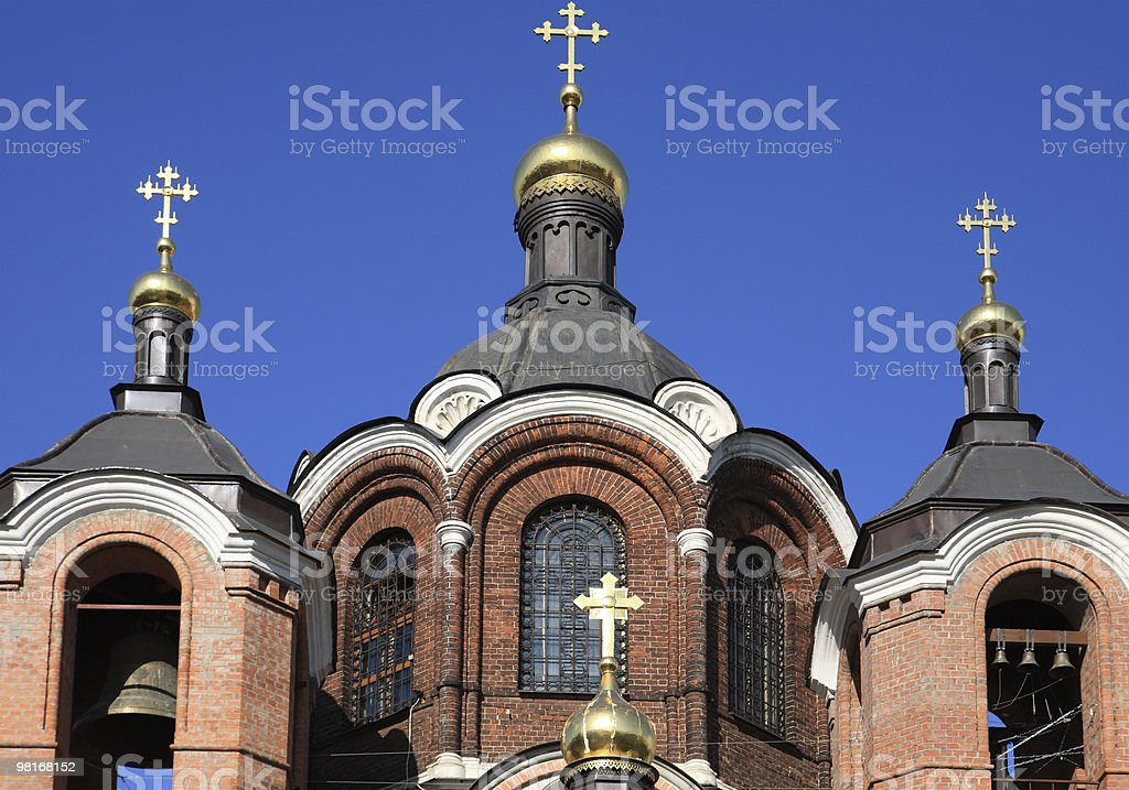 church in the daytime royalty-free stock photo
