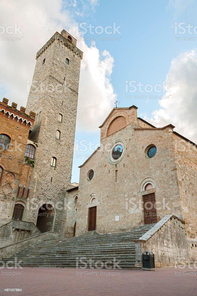 Church in Tuscany , Italy stock photo