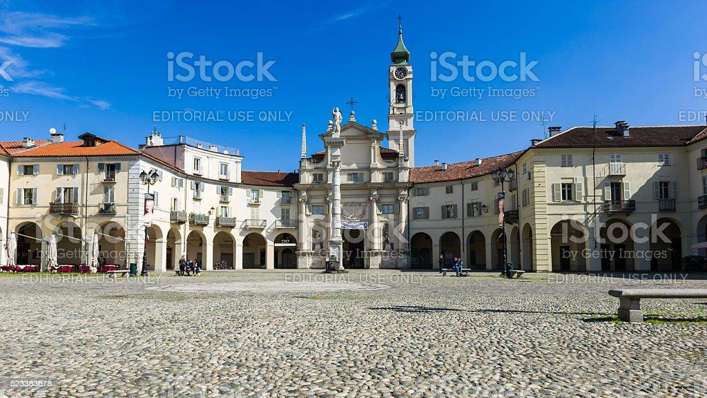 Church in Venaria Reale stock photo