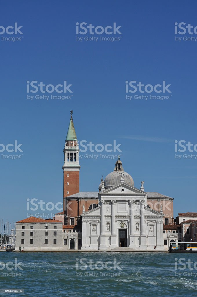 Church in Venice, Italy royalty-free stock photo
