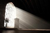istock Church Interior Light & Pulpit 1250015443